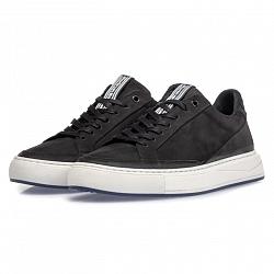 Floris van Bommel Herenschoenen Sneakers zwart 13323/01 331010096