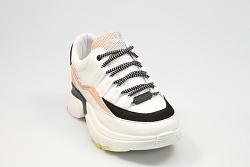 Rehab Footwear Damesschoenen Sneakers wit Sylvia mesh 231041018
