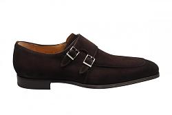 Magnanni Herenschoenen Gesp schoenen bruin 23696 270 thunder 321020007