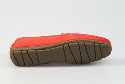 Sioux Damesschoenen Instappers rood