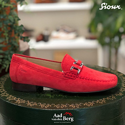 Sioux Damesschoenen Instappers rood Cambria 63131 211060021