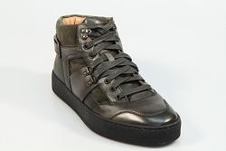 Santoni Herenschoenen Sneakers groen 21209 330070004