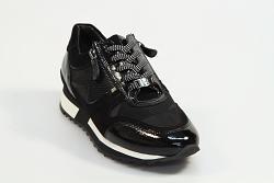 Hassia Damesschoenen Sneakers zwart 302021 Barcelona 231010150