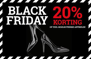 Black Friday 20% korting op geselecteerde artikelen