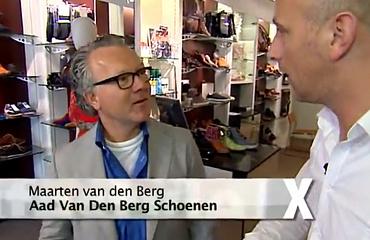 Aad van den Berg modeschoenen in Lifestylexperience RTL4