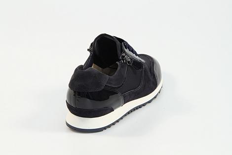 Hassia Damesschoenen Sneakers blauw 301914 Barcelona 231080092