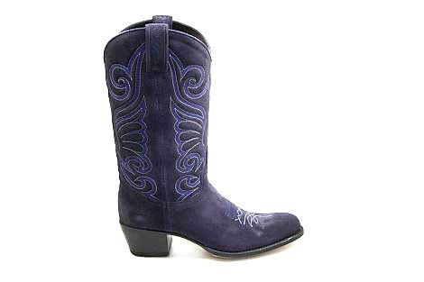 Sendra Damesschoenen Laarzen blauw 11627 Debora NL flex 294080012