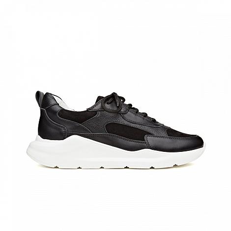 H32sneakers Damesschoenen Sneakers zwart Coco Dropino 231010173