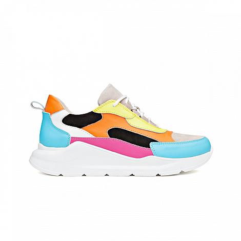 H32sneakers Damesschoenen Sneakers multi collor Coco Crazy Mary 231099015
