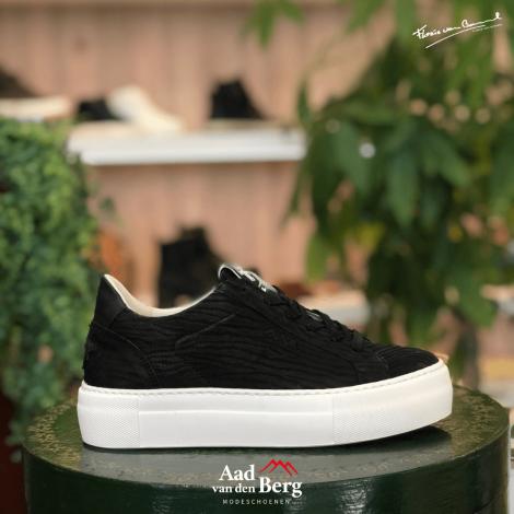 Floris van Bommel Damesschoenen Sneakers zwart 85333/07 231010168