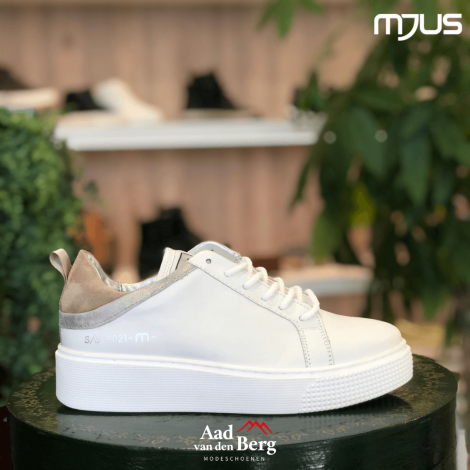 Mjus Damesschoenen Sneakers wit M08135 231040242