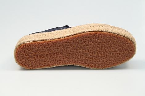 Superga Damesschoenen Sneakers blauw 2730 cotrope 231080119