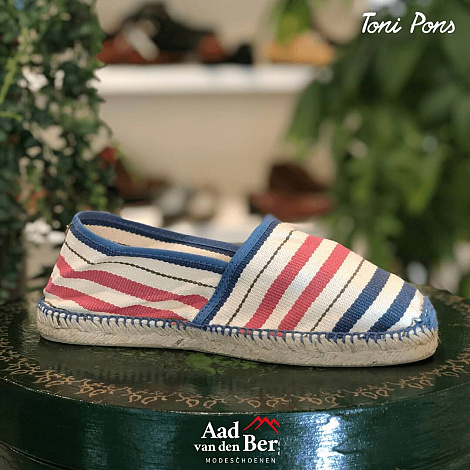 Toni Pons Damesschoenen Instappers blauw Jordan 211081022