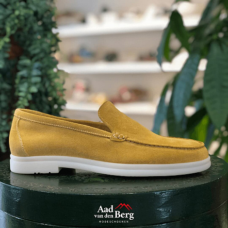 Berwick Herenschoenen Instappers geel