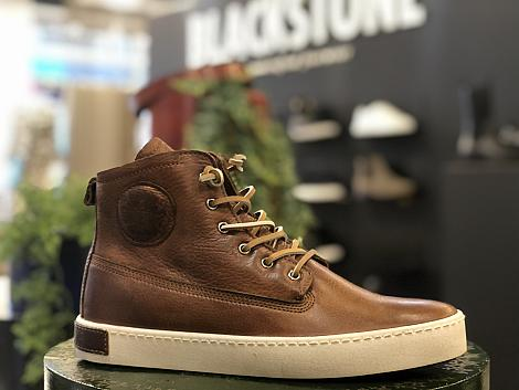 Blackstone Shoes Herenschoenen Veterlaarzen bruin GM06 371020141
