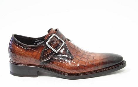 Harris Herenschoenen Gesp schoenen bruin 9195 423 320021039