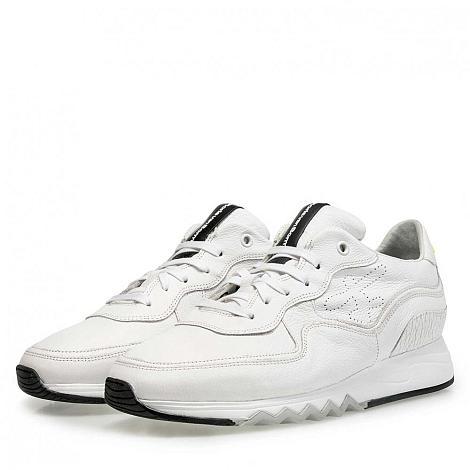 Floris van Bommel Herenschoenen Sneakers wit 16093/05 331040057
