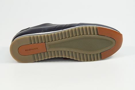 Magnanni Herenschoenen Sneakers blauw 18457 371 331080110