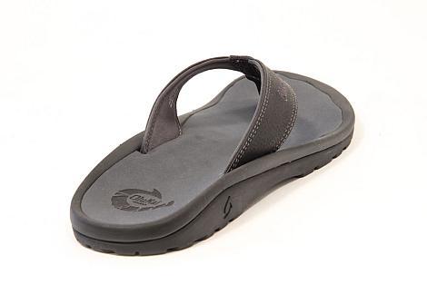OluKai Herenschoenen Slippers zwart Ohana Men 10110 361010035
