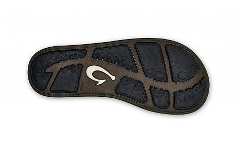 OluKai Herenschoenen Slippers bruin Nui 10239 361020050