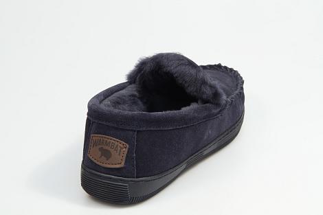 Warmbat Pantoffels blauw Grizzly 530080001