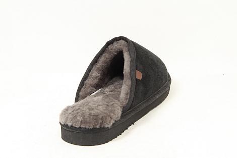 Warmbat Pantoffels zwart Classic 531010003