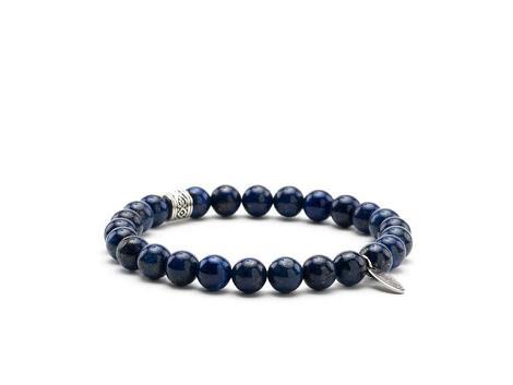 Rehab Footwear Accessoires tassen blauw bracelet Lapis lazul 692080005