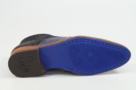 Rehab Footwear Herenschoenen Veterlaarzen blauw Salvador zig zag 371080142