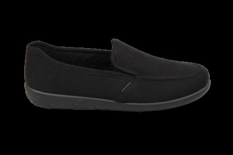 Rohde Pantoffels zwart 2224 520010004