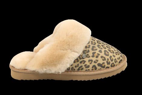 Warmbat Pantoffels beige Flurry 521030005