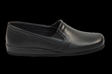 Rohde Pantoffels zwart 6402 530010005