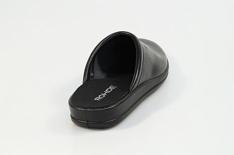 Rohde Pantoffels zwart 1550 531010005