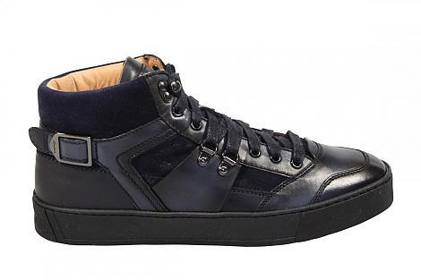 Santoni Herenschoenen Sneakers blauw 21209 330080009