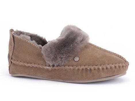 Warmbat Pantoffels beige Polarfox 520034006