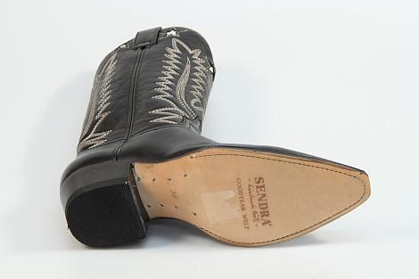 Sendra Damesschoenen Laarzen zwart 14146 Gene flex 292010120