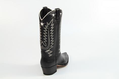 Sendra Damesschoenen Laarzen zwart 14146 Gene 292010120