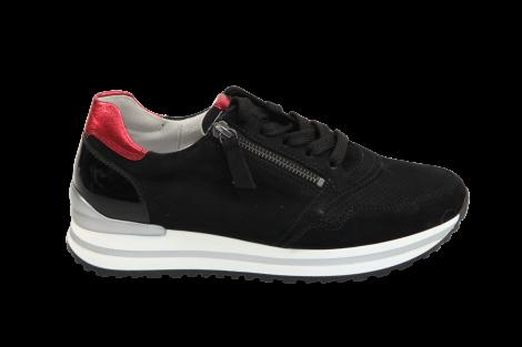 Gabor Damesschoenen Sneakers zwart 46.528 231010119