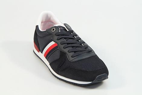 Tommy Hilfiger Herenschoenen Sneakers blauw FMOFM02667 331080130