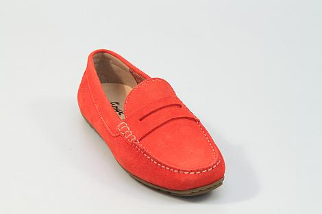 Sioux Damesschoenen Instappers rood Carmona 65241 211060019