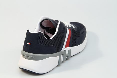 Tommy Hilfiger Herenschoenen Sneakers blauw FMOFM02661 331080129
