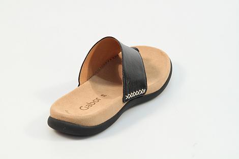 Gabor Damesschoenen Slippers zwart 03.700 261010098