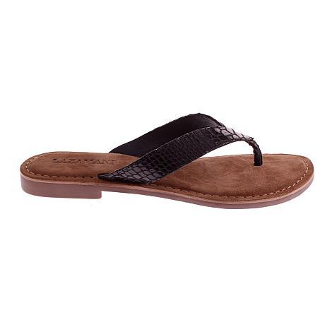 Lazamani Damesschoenen Slippers zwart 75.481 261010107