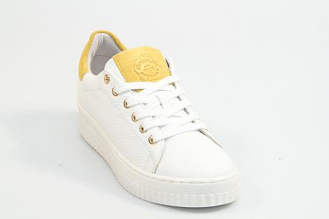 Shoecolate Damesschoenen Sneakers wit 8.10.02.016 231040220