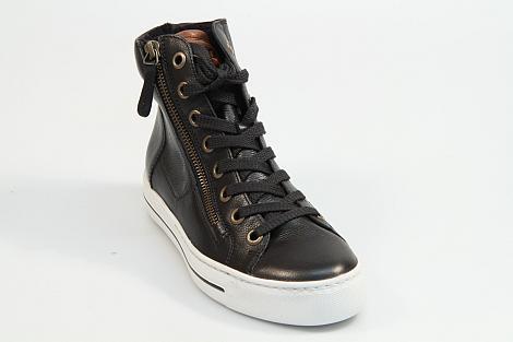 Paul Green Damesschoenen Sneakers zwart 4024 230010011
