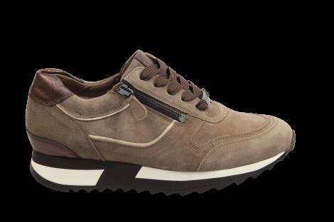Hassia Damesschoenen Sneakers beige 302022 Barcelona 231031016