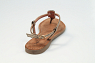 Lazamani Damesschoenen Sandalen brons
